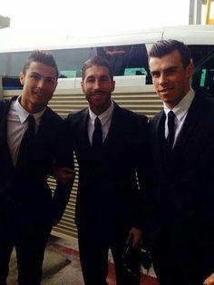 C.Ronaldo, S.Ramos, and G.Bale