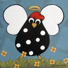 Image result for cartoon chicken painting
