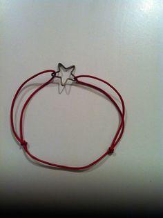 Bracelet coulissant étoile#créa Made in Happy Lau••