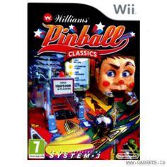 [Baisse de prix] Williams Pinball Classics à Xbox 360, Microsoft, Dvd Box, Unique Gadgets, Wii Games, Single Player, Nintendo 3ds, Psp, Gaming Computer