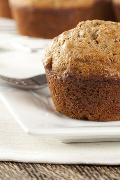 Classic Bran Muffins Recipe- use almond milk instead of buttermilk, and add blueberries or chopped apple instead of raisins
