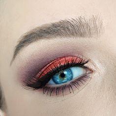 Coppering Eye Makeup