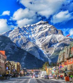 Banff, Alberta. I grew up spending summer vacation here, and my husband and I honeymooned here.