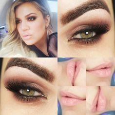 Tutorial – makeup Khloe Kardashian com apenas 1 sombra