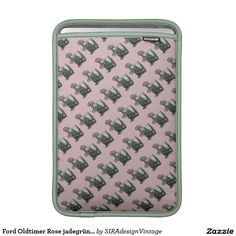 Ford Oldtimer Rose jadegrün SIRAdesign Sleeve Fürs MacBook Air