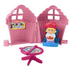 Little People® Fold 'n Go Bakery - Shop Little People Toddler Toys   Fisher-Price