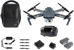 DJI Mavic Pro Fly More Combo CPPT000640 -- Click image for more details.Note:It is affiliate link to Amazon.