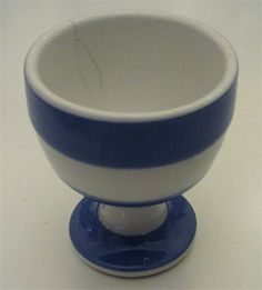 Cornish Kitchen Ware Egg Cup Cornishware by T G Green