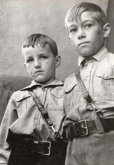 When the government takes your children... Margaret Bourke-White - Nazi Storm Troopers' training class 1938