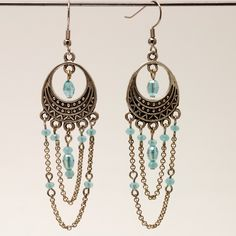 Chained To Blue from Renee Gipson Design Studios for $23.00