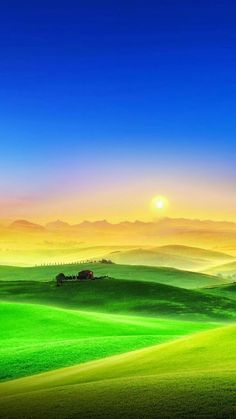 The grassland area not only has a very beautiful scenery, but also a unique national culture. Beautiful Nature Pictures, Beautiful Nature Wallpaper, Amazing Nature, Beautiful Landscapes, Beautiful Scenery, Fantasy Landscape, Landscape Art, Landscape Photography, Nature Photography