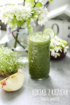 Koktajl z rzeżuchą - dieta dr Dąbrowskiej Lemonade, Smoothies, Meals, Drink, Fruit, Recipes, Food, Meal, The Fruit