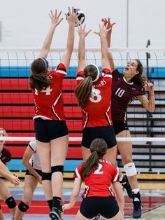 My team in the newspaper! Volleyball | Volleyball | Pinterest ...