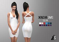 Silan dress at Kenzar Sims • Sims 4 Updates