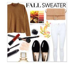 """Fall sweater"" by pradkors on Polyvore featuring H&M, Miss Selfridge, Michael Kors, Chanel, MANGO, Eve Lom and MAC Cosmetics"