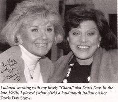 With Kaye Ballard