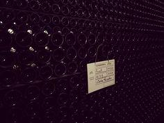#bottiglie in affinamento #spumante #metodoclassico