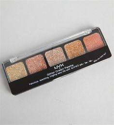 NYX Bronze Glitter Cream Palette