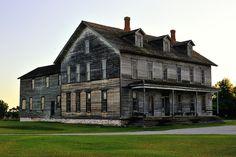Hotel Fayette Historic Town site, Upper Peninsula, Michigan