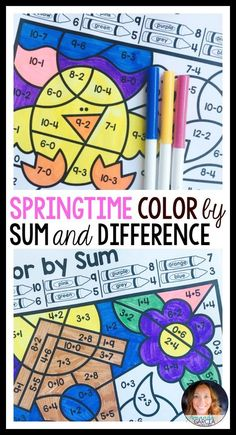 Beautiful Color Code Book 91 Color by Sum and
