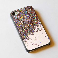 Sparkle Glitter design iPhone case, iPhone 4/4S case, iPhone 5, 5S, 5c case, Samsung S3, S4 case