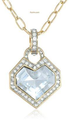 "Juicy Couture #Heart #Gemstone #Pendant #Necklace, 32"" #Juicy"