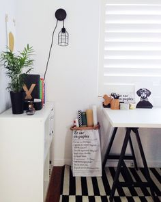 Are you a renter? Or don't want to commit to hanging a nail in the wall? Use these 4 ideas and hang your prints right now with things you have in the house already! The Little Design Corner