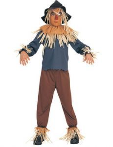 Child: Wizard Of Oz Scarecrow Costume great for world book day 6th March