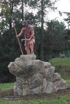 Homme de Neandertal - Saint Césaire (Charente Maritime)