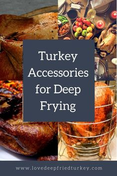 Check out the top picks for turkey frying accessories, including racks, lifting hooks, stands, meat injectors, thermometers and more. Get all the turkey deep frying accessories you need to deep fry a turkey in style this next big holiday. #turkey #deepfried #deepfrying #friedturkey #thanksgiving #christmas #holidays #home #backyard #outdoors #tailgating