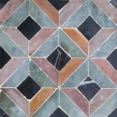 Visconte Honed Visconte Limestone Mosaics 8x8 - Country Floors of America LLC.