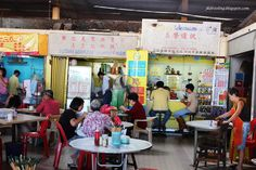 This is at the hawker centre in Seremban Market.