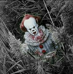 Pennywise It Pennywise, Pennywise The Dancing Clown, Clown Horror, Arte Horror, Le Clown, Creepy Clown, Dark Fantasy Art, Scary Movies, Horror Movies