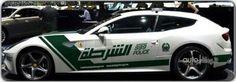 La Ferrari FF della Polizia di Dubai