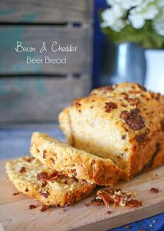 Bacon Cheddar Beer Bread. Simple, easy & the perfect side to every meal. Delicious. - done in less than 1 hour.  on kleinworthco.com