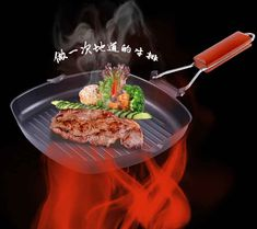 2016 Plancha Kitchen Appliances Tools Cast Pot Thick Steak Skillet Frying Pan Non-stick Wok Stripes Uncoated Cooker Universal