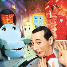 "Pee Wee's Playhouse AHHHHHHH ""connect the dots, la la la la"""
