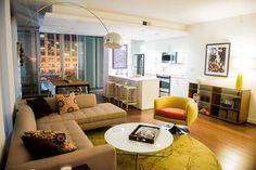 The Apartments at CitycenterDC - Washington, DC | @usfcontract  Strand Woven Bamboo | #spartansurfaces #Greenguard