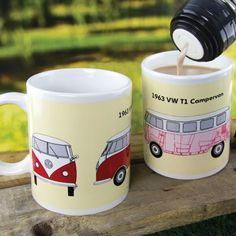 Tasse VW-Bus mit Temperatur-Farbwechsel online kaufen ➜ Bestellen Sie Tasse VW-Bus mit Temperatur-Farbwechsel für nur 7,85€ im design3000.de Online Shop - versandkostenfreie Lieferung ab €!