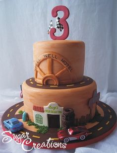 Radiator Springs Cake