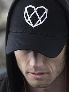 Workout fitted hat in midnight black with white diamond heart puff logo Athletic Outfits, Athletic Wear, Diamond Heart, Snapback Hats, Athlete, Baseball Hats, Workout, Lifestyle, Stylish