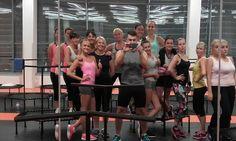 Fit and Jump to nie tylko Łódź! Fit and Jump to cała Polska! Tutaj na treningu w Olecku :)  #fitness #workout #jump #trampoline #trampoliny #ćwiczenia #sport