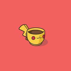 Pop Culture and Super Heroes Coffee Mugs. Pikachu, Pokemon.
