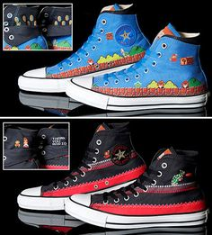 Nintendo Converse shoes!  Only available in Japan. :(