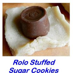 Easy Rolo Stuffed Sugar Cookies