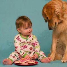 Foto Kind mit Hund