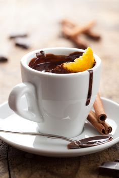 Spiced Orange Hot Chocolated