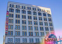 Metropolitan Artist Lofts in St Louis, MO - Quaker Historical Series H300 Single Hung windows. www.quakerwindows.com