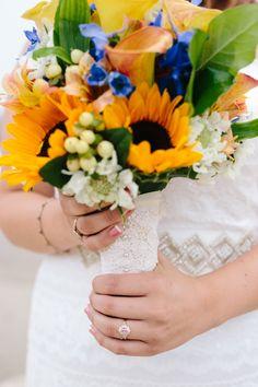 Gorgeous Wedding on the Cliffs of Natural Bridges State Beach in Santa Cruz, California // SimoneAnne.com