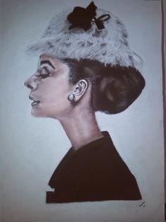 retrato de Audrey, Dulce Glez.